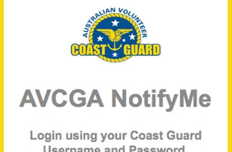 Coast Guard NotifyMe