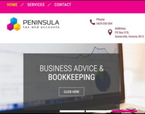 Peninsula Tax Website Preview